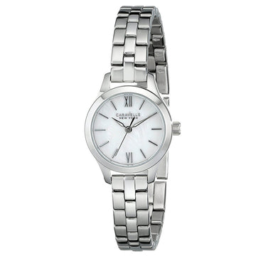 Caravelle 43L177 New York Women's MOP Dial Quartz Watch