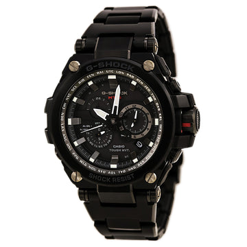 Casio Men's Chronograph Watch - G-Shock MT-G Tough Solar Black Dial | MTGS1000BD-1A