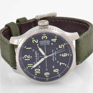 Filson 10000301 Mackinaw Field Men's Black Dial Dive Watch