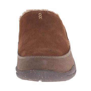 Acorn Men's Slipper - Wearabout Slide with FirmCore Chocolate Suede | A10124