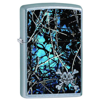 Zippo Windproof Pocket Lighter - Classic Lifestyle Moon Shine Blue Camo | 29592