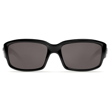 Costa Del Mar CL11OGP Women's Caballito Polarized Plastic 580P Grey Mirror Lens Black Frame Sunglasses