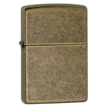 Zippo Windproof Pocket Lighter - Antique Brass | 201FB