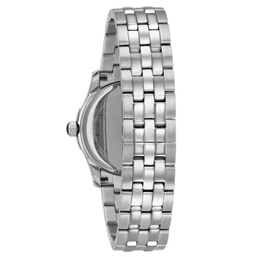 Bulova 96P182 Women's Diamond Quartz White MOP Dial Steel Bracelet Watch