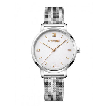 Wenger Women's Bracelet Watch - Metropolitan Donnissima Stainless Steel | 01.1731.104
