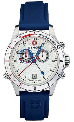 Wenger Men's Swiss Made AquaGraph Yacht Racer 70831