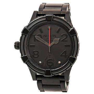 Nixon A171SW2244 Men's 51-30 Automatic LTD SW Black IP Titanium Black Dial Lefty Dive Watch