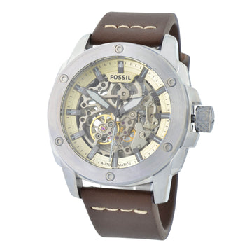 Fossil ME3083 Modern Machine Men's Brown Leather Strap Watch