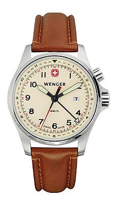 Wenger Men's Swiss Made TerraGraph Alarm Watch 72741