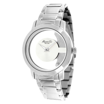 Kenneth Cole KC4924 Women's Transparency Silver Dial Stainless Steel Bracelet Watch