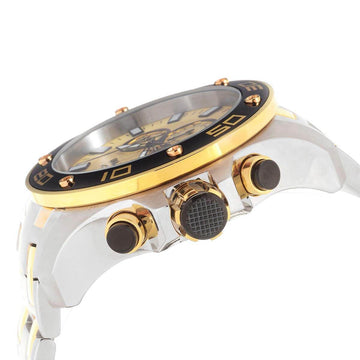 Invicta Men's Chronograph Watch - Pro Diver Two Tone Bracelet | 26080