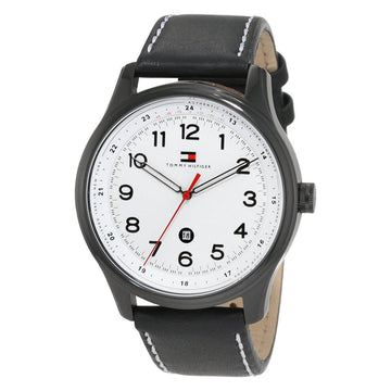 Tommy Hilfiger 1710309 Andre Men's Quartz Leather Band Watch