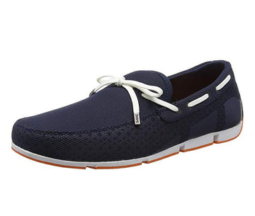 Swims 21270-002 Men's Breeze Navy Molded Fabric Ultra Light Loafer