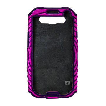 Nathan 4924NFFP Sonic Boom Armband for Samsung Galaxy S3 - Floro Fuchsia Imperial Purple