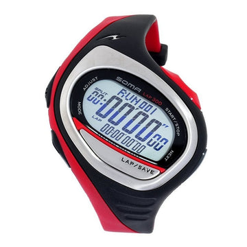 Soma Dwj04-0003 Unisex Runone 300 Polyurethane Strap Digital Dial Sports Watch