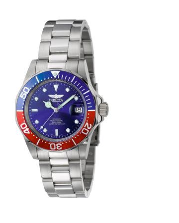 Invicta Men's Automatic Stainless Steel Watch - Pro Diver Blue Dial Date | 5053
