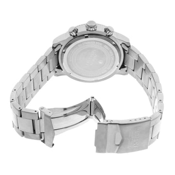 Invicta 10358 Men's Specialty Classic Silver Dial Stainless Steel Bracelet Chronograph Watch