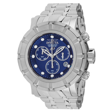 Invicta 23952 Men's S1 Rally Blue Dial Steel Bracelet Chronograph Dive Watch