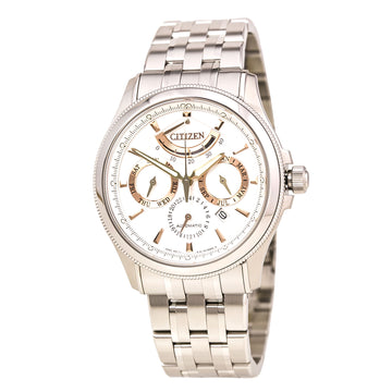 Citizen Men's Automatic Watch - Signature Grand Classic Silver Dial Power Reserve