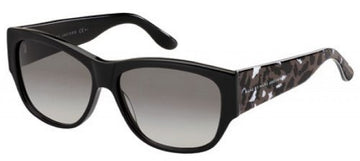 Marc Jacobs MMJ295S07T3 Black Frame Women's Grey Gradient Lenses Wayfarer Sunglasses