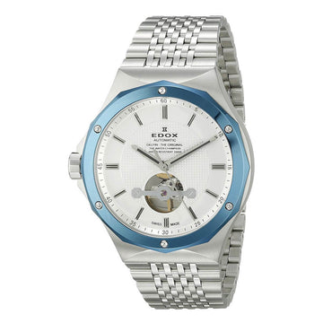 Edox 85024 3BUM AIN Delfin Men's Steel Bracelet Swiss Watch