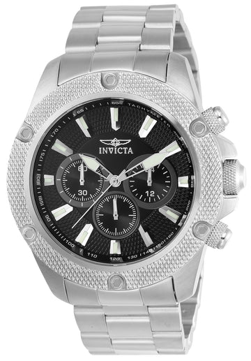 Invicta 22716 Men's Pro Diver Chronograph Black Dial Watch