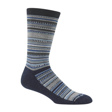 Wigwam Women's Boot Socks - Miley Casual Medium Weight, Charcoal | F3078