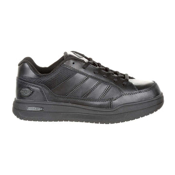 Dickies Women's Work Shoes - Slip Resisting Black Athletic Skate|SR3215
