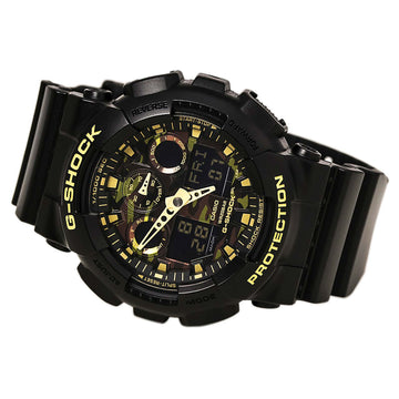Casio GA100CF-1A9 Men's G-Shock Ana-Digi Camouflage Dial Resin Strap Dive Watch