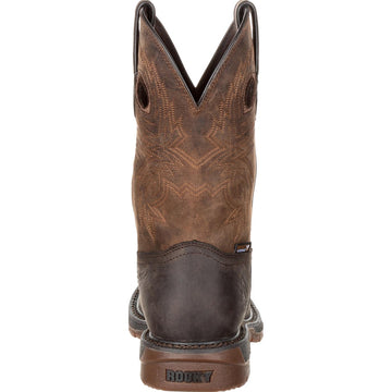 Rocky Men's Boot - Dark Brown Crazy Horse Leather | RKW0234