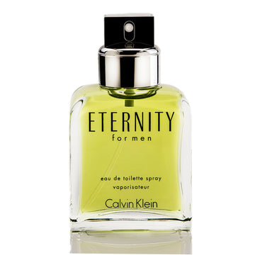 Calvin Klein Men's Eternity Eau De Toilette Spray Tester, 3.4 oz