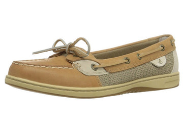 Sperry 9102047 Women's Angelfish Linen Oat Boat Shoe