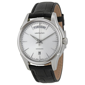 Hamilton H32505751 Men's Black Leather Strap Swiss Automatic Jazzmaste