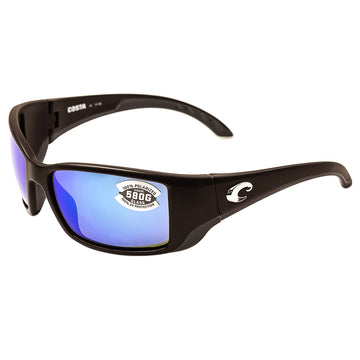Costa Del Mar BL11OBMGLP Men's Blackfin Polarized Blue Mirror 580G Lens Matte Black Frame Sunglasses