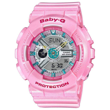 Casio BA110CA-4A Women's Pink Resin Strap Baby-G Watch