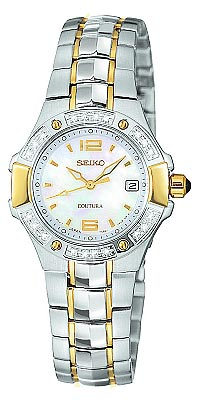 Seiko Women's Diamond Coutura Watch SXD692