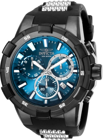 Invicta Men's Chronograph Watch - Aviator Blue Dial Quartz Dive | 25861