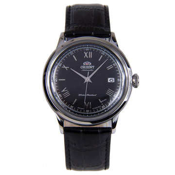 Orient Men's Automatic Watch - Bambino II Black Dial Leather Strap | AC0000AB