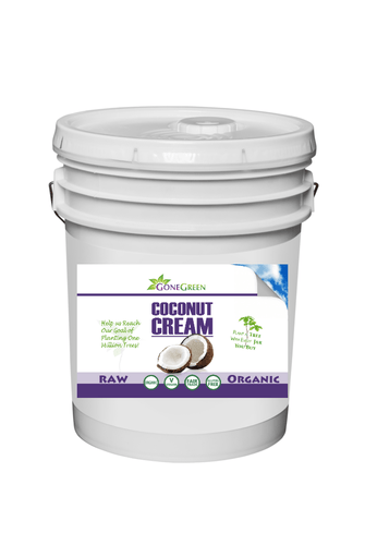 Stone Ground Organic Coconut Cream (40lb)