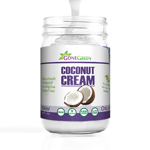 Stone Ground Organic Coconut Cream