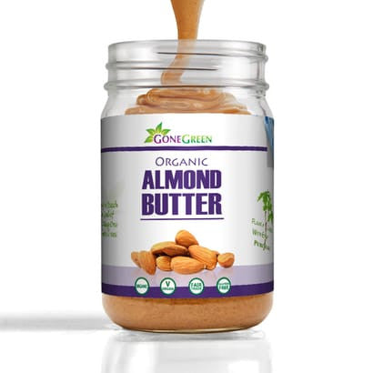 Organic Stone Ground Almond Butter