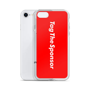TagTheSponsor iPhone Case