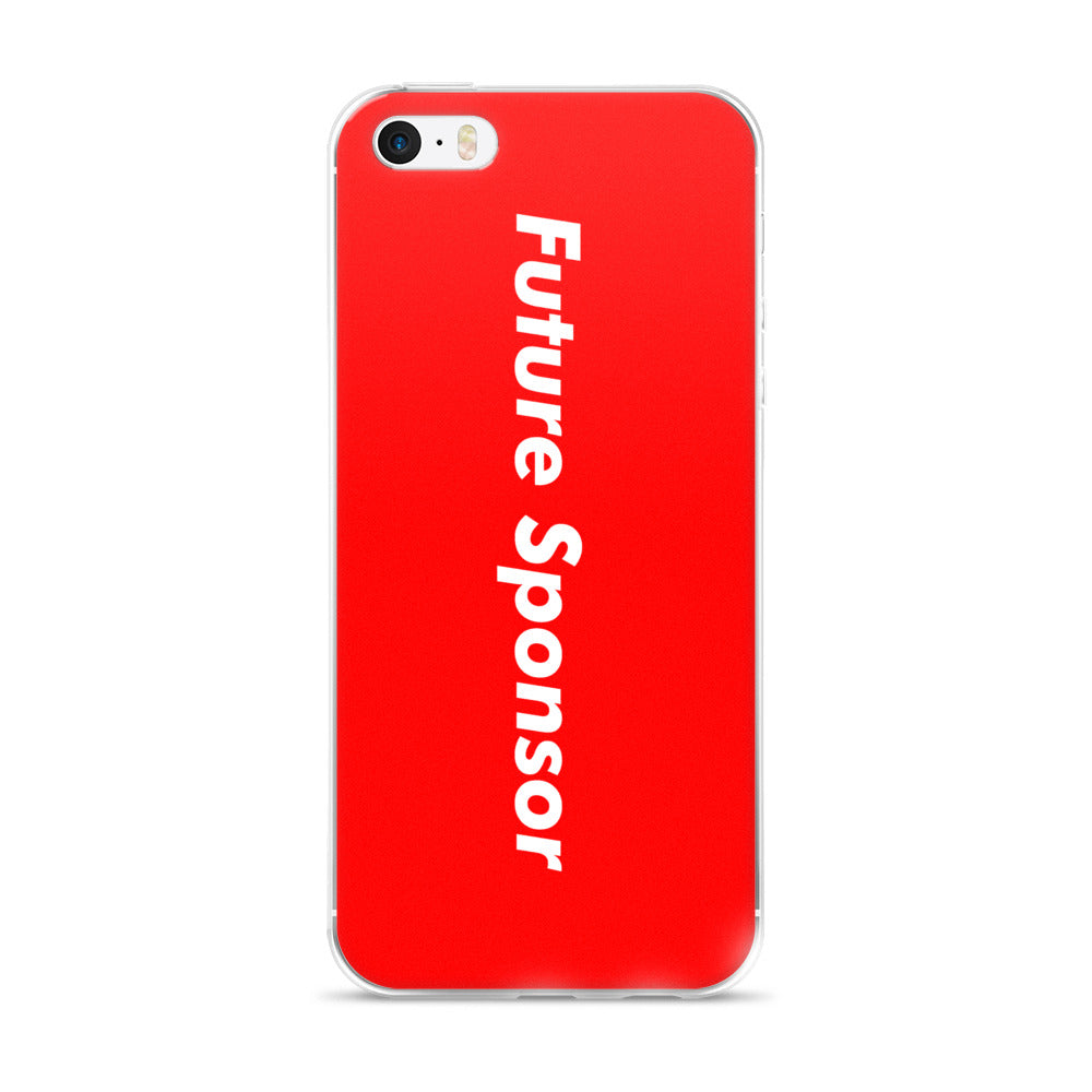 Future Sponsor iPhone Case