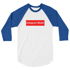 Instagram Model (Multiple Colors) 3/4 sleeve raglan Jersey