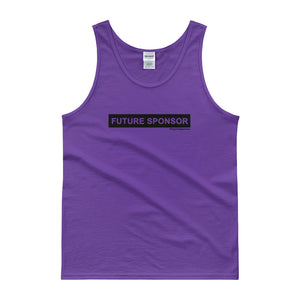 Future Sponsor (Black) (Multiple Colors) Tank top
