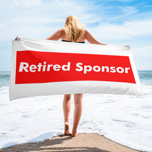 Retired Sponsor Towel