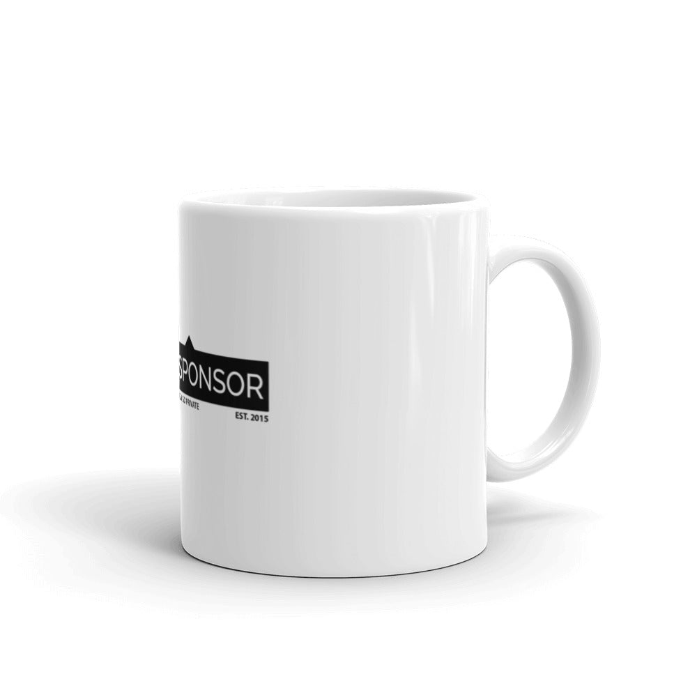 TagTheSponsor Official Logo (Black)  Mug