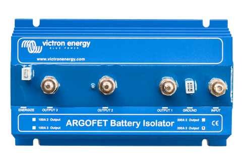 Argo FET Battery Isolator with Alternator Energiser terminal 2003 3 batteries 200A