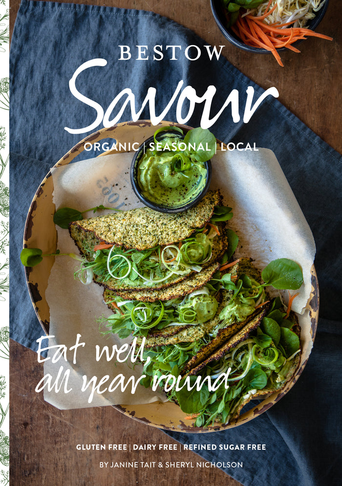 Bestow Savour Recipe Books