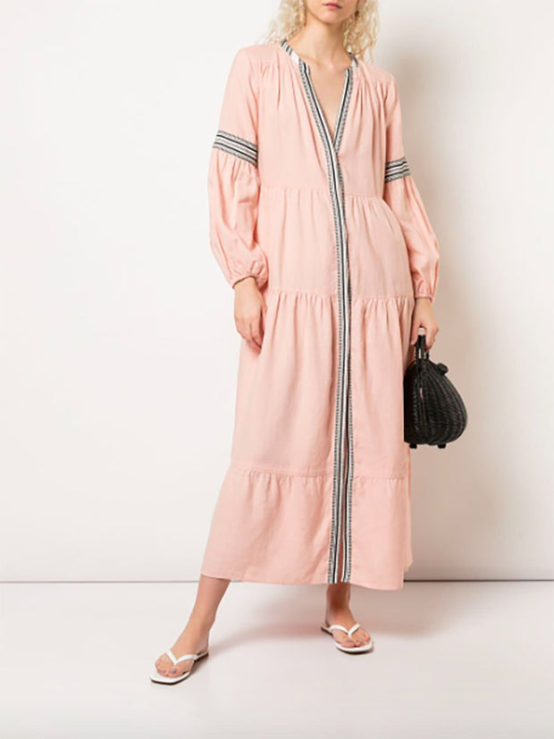 Koki Peasant Dress